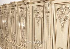 Door Molding, Moldings And Trim, Moulding, Baroque Furniture, Luxury Furniture, Interior Architecture, Interior And Exterior, Victorian Rooms, Luxury Dining Room