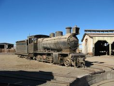 Train graveyard outside the Bolivian city of Uyuni