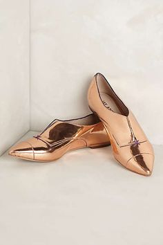 Anthropologie - Red Carpet Oxfords. Gorgeous!!