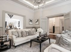 Living Room Furniture Layout Ideas. #LivingRoom #Furniture #Layout #Interiors