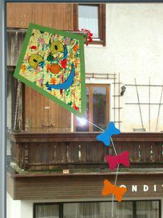 Herbstdeko Teil 3 – Drachen fürs Fenster » Das Kinderzimmer | Das Kinderzimmer
