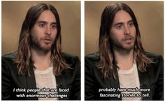 Jared Leto quote. I ❤️ this. I couldn't agree with him more.