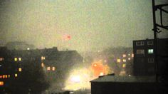 Storm over Bochum, Germany 09 June 2014