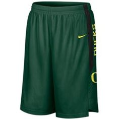 Nike College Twill Shorts - Men's - Basketball - Fan Gear - Oregon - Green