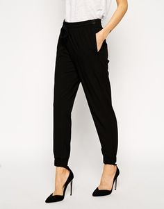 Enlarge ASOS Woven Cuffed Pants