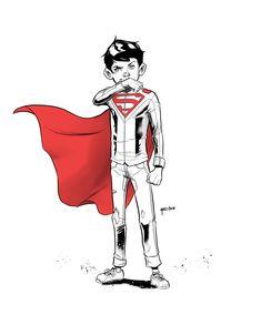 Superboy by Daniel Mallzhen