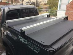 Trendy Bike Rack For Truck Toyota Tacoma Toyota Hilux, Toyota Tacoma, Tacoma Accessories, Truck Bed Accessories, Top Tents, Roof Top Tent, Truck Top Tent, Tacoma Bed Rack, Quad