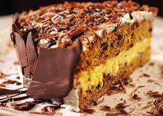 Mrkvovo - pomarančová torta