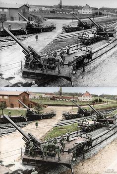 """""""Railway Gun 150mm"""" Invasion of Poland, Sept 1939  Source: -"""