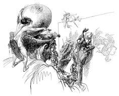 Ilustraciones de Heinrich Kley - ElPichel
