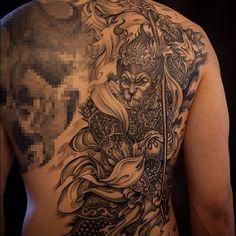 The Monkey King by Tony Hu of Chronic Ink.