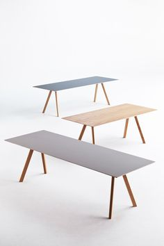 Copenhague table by Hay from SCP. 90x250 On sale £1,020.00. http://www.scp.co.uk/collections/furniture/products/copenhague-table