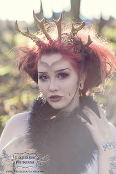Antler crown hand crafted Made to order by HysteriaMachine on Etsy, £75.00