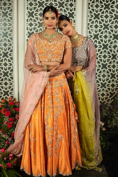 Colour Board, Color, Blooming Rose, Desi Clothes, Walking Down The Aisle, Flower Petals, Bridal Looks, Every Girl, Orange