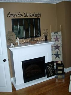 country primitive decorating before and after decorating designs design Primitive Country Bedrooms, Primitive Living Room, Primitive Homes, Country Primitive, Country Sampler, Prim Decor, Rustic Decor, Primitive Decor, Primitive Furniture
