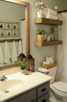 39 Wonderful Farmhouse Bathroom Decor Ideas