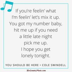 28 Best Cole Swindell images | Letras de canción country