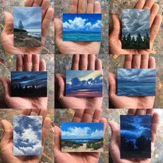 """2,606 Likes, 41 Comments - Edward Duff (@edward.duff) on Instagram: """"Mini landscapes since the beginning of 2017  #michigrammers"""""""