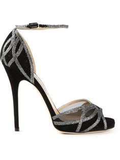Compre Jimmy Choo Sandália em couro em Davinci from the world's best independent boutiques at farfetch.com. Over 1000 designers from 60 boutiques in one website.