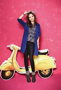 Song Ji Hyo ☆ #Kdrama #RunningMan for YESSE's Fall 2013 Campaign