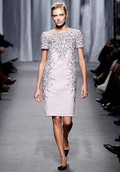 Chanel Spring 2011 Couture - Anja Rubik