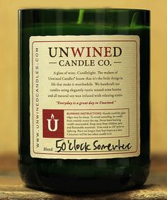 Unwined Candles 12-Oz. 5 OClock Somewhere Soy Candle | zulily
