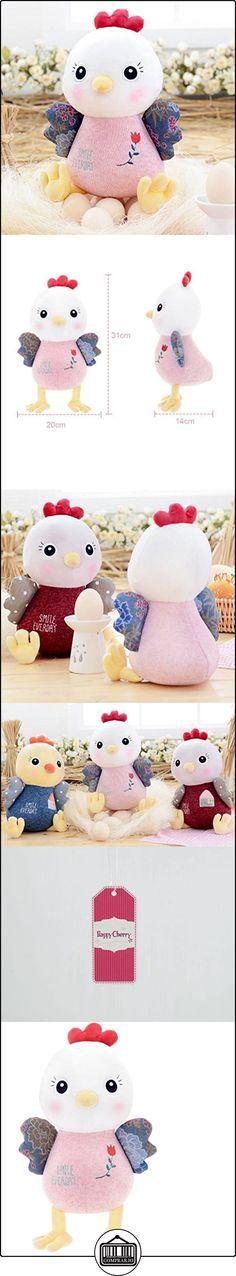Happy Cherry - Juguete Peluche Muñeca para Niñas bebés Animal - Pollito rosa  ✿ Regalos para recién nacidos - Bebes ✿ ▬► Ver oferta: http://comprar.io/goto/B01IUU3EOU