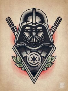 darth vader tattoo - Google Search