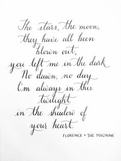 Florence & The Machine lyrics to Cosmic Love -- beautiful wedding song!