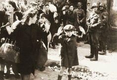 Nazi's round up Jews who have no guns.
