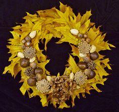 Поделки для детей из природных материалов - Осенние поделки.