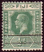 Postage Stamps Fiji 1922 King George V SG 229 Mint Scott 80 Other Fiji Stamps HERE