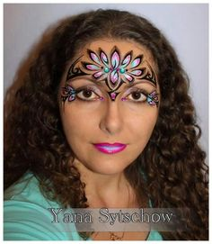 #facepaint design pretty tribal
