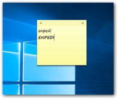 Windows 7, 8 ve 10: Yapışkan Notların Yazı Tipini (Font) Değiştirmek Windows 10