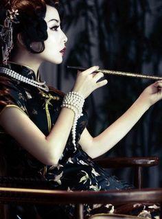 Chinese Qipao Dress - China girl