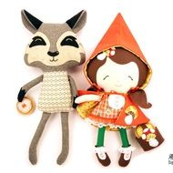 Dolls And Daydreams / Little Red & Wolf