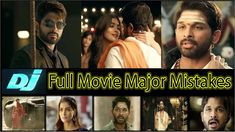 15 Major MISTAKES in DJ (Duvvada Jagannadham) Full Movie | Allu Arjun, P...