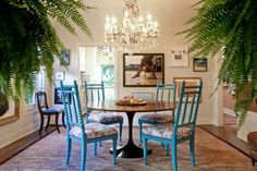Tommy &Todd's Bohemian Chic Collection-  cool dining room!!