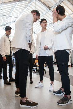 Ambitious Shoes | Backstage 38º Portugal Fashion #fashion#fashion #clothes #shoes #style #menswear #outfit #pf #portugalfashion #runaway #streetfashion #backstage #mensfashion #streetstyle #Footwear #GQ #ambitious #design #leathershoes #ambitiousmood #ambitions #ambitiousshoes #colourfullshoes