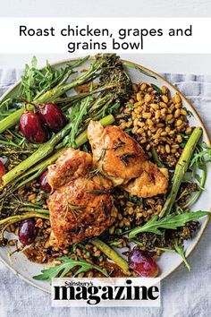 This super easy and healthy meal is ready in 30 minutes and under 600 calories. Full of nutrition, it's the ideal midweek dinner for feeding a hungry family! Get the Sainsbury's magazine recipe