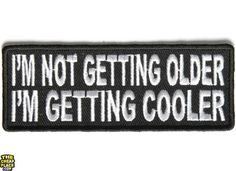 My Parents Said I Could BE Anything SO I Became an Asshole Biker Joke Funny Word Kids Cartoon Patch Applique for Clothes Great as Happy Birthday Gift
