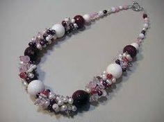 натуральные камней - Google Search Diy Necklace, Flower Necklace, Necklaces, Bead Jewellery, Jewelry Photography, Bead Art, Artisan Jewelry, Jewelry Making, Beaded Bracelets