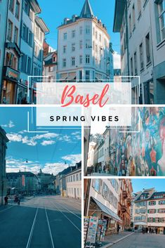 Enjoy a blueish spring vibe of Basel💙 Basel, Spring Time, Switzerland, Times Square, Photo And Video, Videos, Instagram, Video Clip