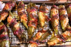 Bacon wrapped green chilis-yes please! OH MY GOODNESS THAT LOOKS DELICIOUS!!