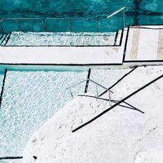 Ocean pools looking oh so inviting // via The Tia Fox