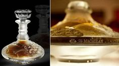 """the Dalmore distillery near Inverness, Scotland made a new record by selling two of the three world's most expensive Scotch whisky bottles, the """"Dalmore 64 Trinitas,"""" for £100,000/$160,100 each. Now, a 64-year-old Macallan single-malt whisky bottled in a unique Lalique crystal decanter has been sold for a record-breaking $460,000 at Sotheby's in New York City on Monday night.  The 64-year-old Macallan has now claimed the title of world's most expensive scotch."""
