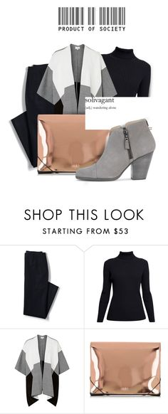 """""""""""Fashion is the armour to survive the reality of everyday life."""" — Bill Cunningham  /23.04.16/"""" by davidkaprall ❤ liked on Polyvore featuring Lands' End, Rumour London, MM6 Maison Margiela, GANT, rag & bone and vintage"""