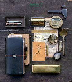 Midori Brass 黄铜 复古 文具 系列 金属 13款可选