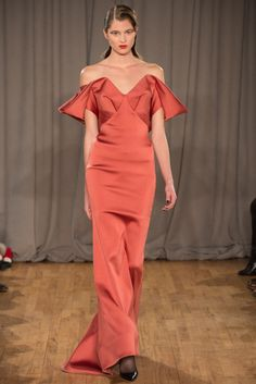 Zac Posen Fall 2014 - NYFW - Fashion Runway