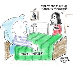 Movie theaters and film studios have had a steady relationship until 2020. Then in March something changed. Find out